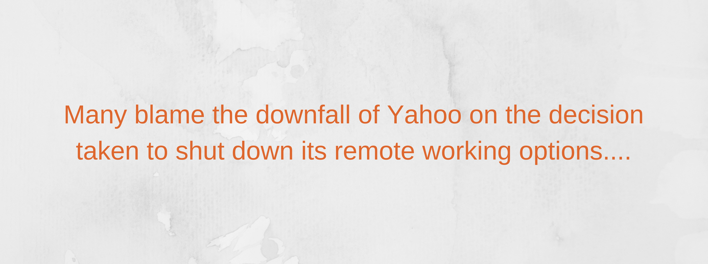 remote working shutdown by Yahoo caption